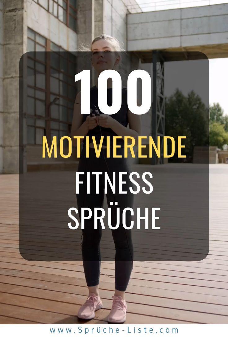 100 »Energiegeladene« Fitness Sprüche [Zum Durchstarten