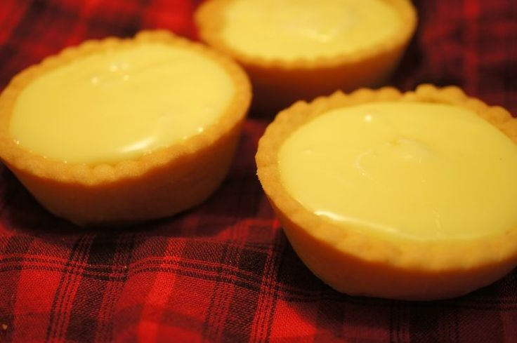 Scottish Pineapple Tarts - Finally found a recipe that is close to my favorite dessert!