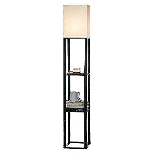 OK-5109f 62-Inch Crystal Silver Floor Lamp