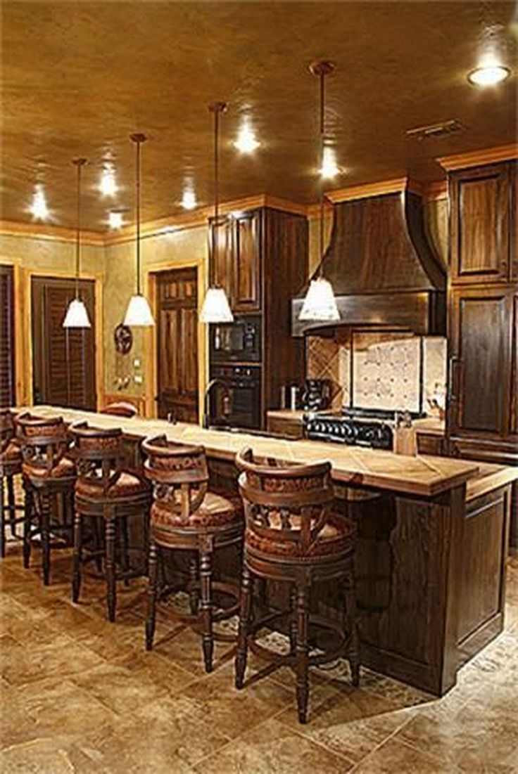42 Lovely Western Style Kitchen Decorations | Western ...