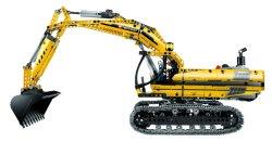 Lego Technic 8043 La Pelleteuse motorisee  - 154,89 € livré - Jaune