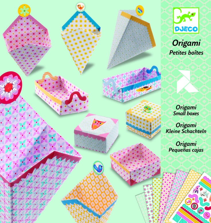 Origami Small Boxes- makers kit
