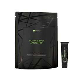 bagUltimate Body Applicator™(4 Applications)1 tubeMini Defining Gel™l (0.5 fl. oz.)  ADD TO CART  The Wrap Pack will have you wrapping your way to a tightened, toned, and firmer body with the one-two combination of the Ultimate Body Applicatorand mini tube of our best-selling contouring Defining Gel!