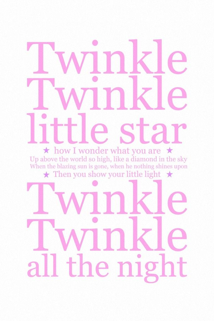 Short Poems for New Baby Twinkle twinkle BABIES QUOTES