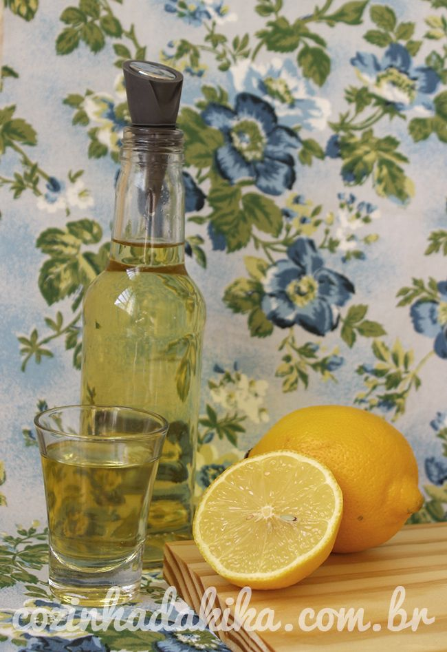 Receita de Limoncello (licor de limão siliciano)