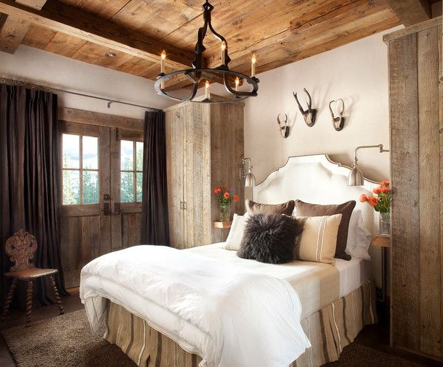 Rustic Master Bedroom Ideas Pinterest With Table Night
