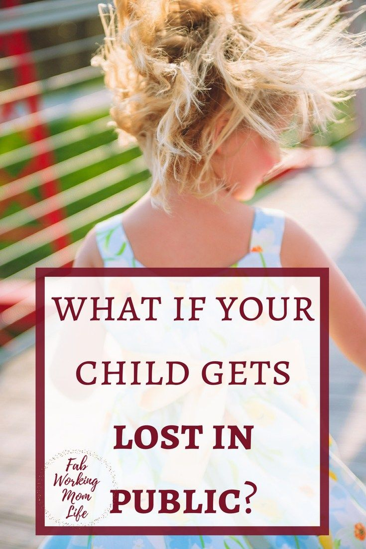 What if your child gets lost in public? Read this post on how to prepare for a public outing in case you get separated from your family. Be prepared to avoid losing your child in public.