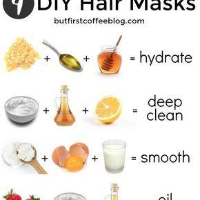 DIY Hair Masks For Every Hair Type