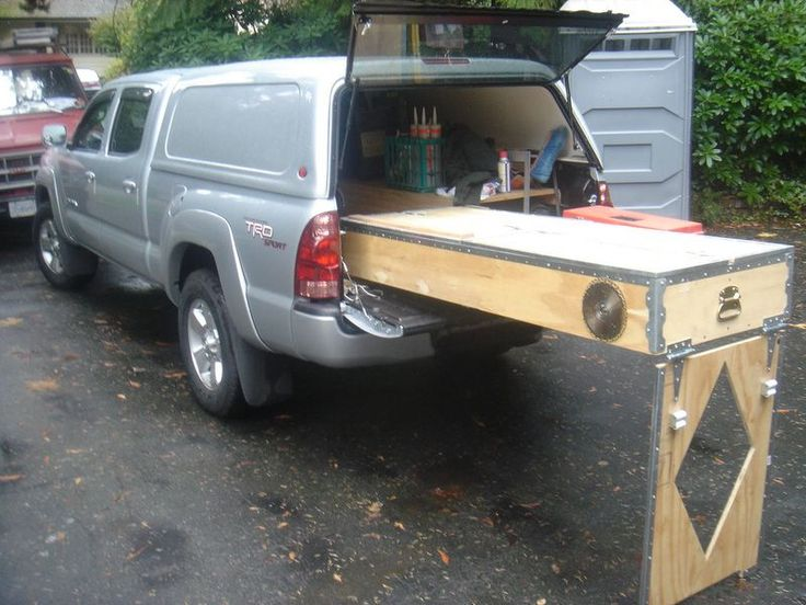 Latest project storage sleeping platform archive toyota truck bed build out - Homemade truck bed storage ...