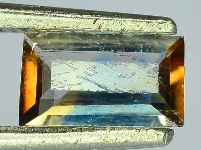 Rare 0.495 ct Multicolor Natural Axinite
