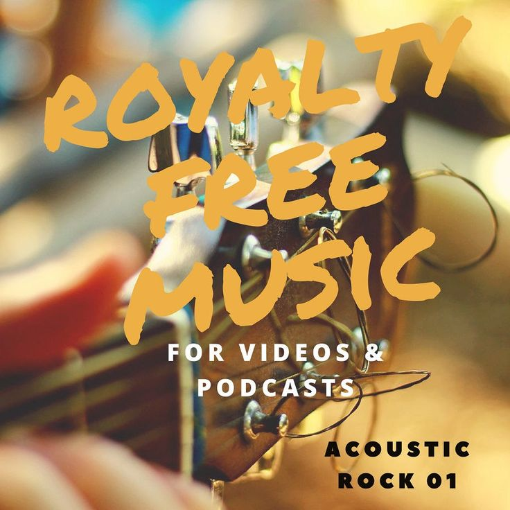 Royalty Free Music - Acoustic Rock Pack 1 by DFYMarketingTemplate on Etsy