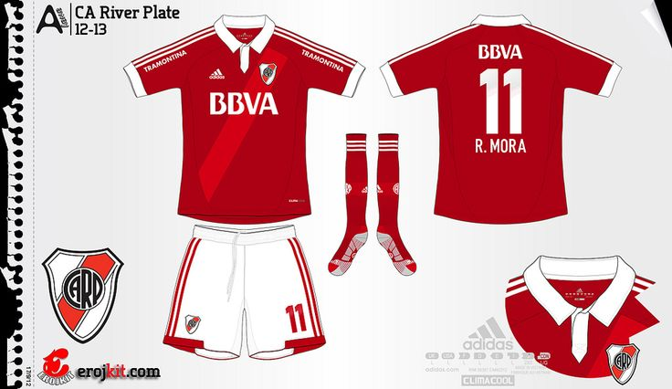 River Plate | away jersey | 2012/13