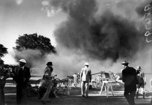 Air Raid exercise in Brisbane in about 1941