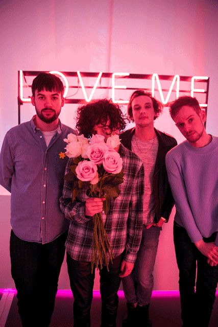 Image result for the 1975 photoshoot pink