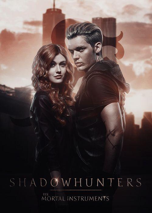 Shadowhunters   Clary and Jace by Riotovskaya.deviantart.com on @DeviantArt