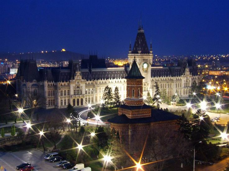 Iasi, The Palace of Culture, Romania. My hometown!