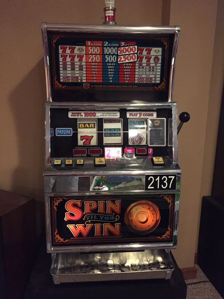 Electronic slot machines for sale
