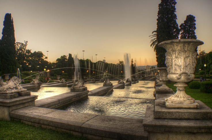 Ipiranga's fountains