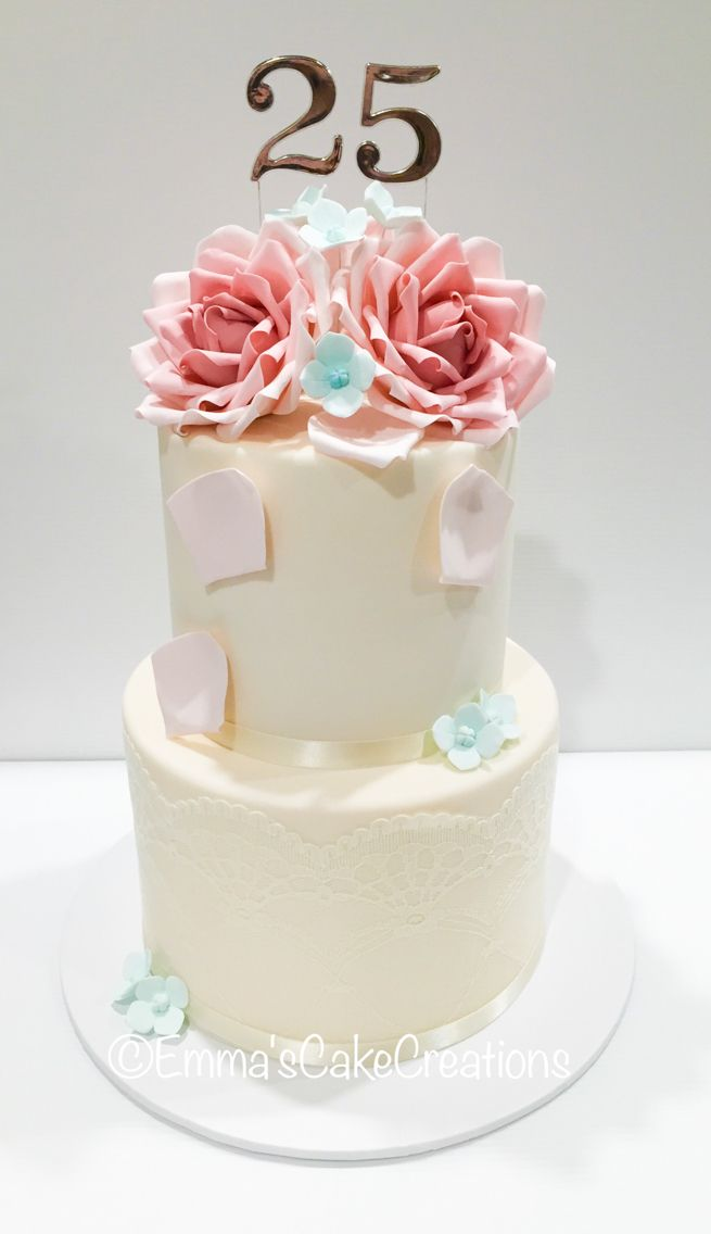 41 best cakes by emmas cake creations adelaide sa images on stunning 25th wedding anniversary cake junglespirit Images