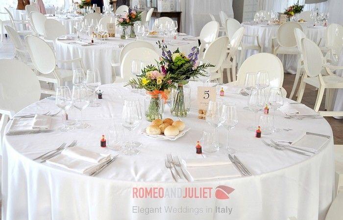 lake como wedding dinner at Lido di Lenno