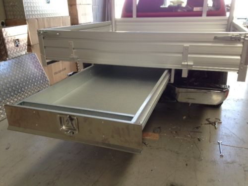 Under-Tray-Tool-Box-Trundle-Drawer-1500mm-Ute-Drawer-Roller-Drawer