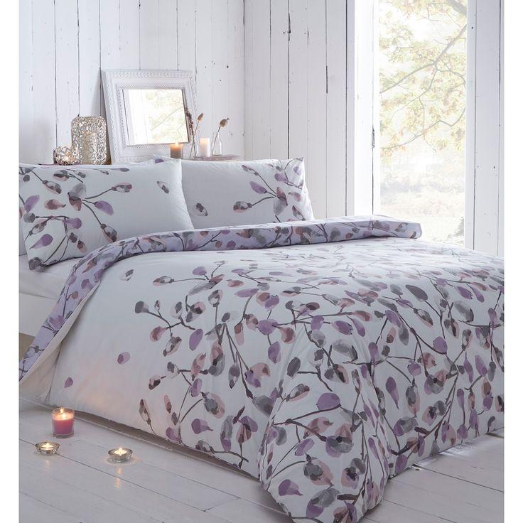 John Rocha Designer lilac floral bedding set  at Debenhams com. 127 best Bed linen images on Pinterest   Bed linens  Bedding sets