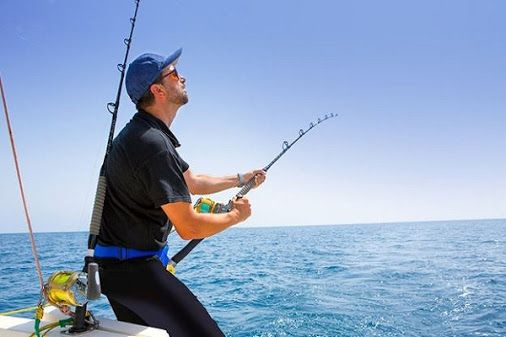 * * * Fishing in Gran Canaria * * * Enjoy a fun active day deep-sea fishing in the Atlantic Ocean. Deep-Sea fishing is incredibly popular here. In the waters surrounding the island you'll see several varieties of large fish including; tuna, marlin, swordfish and occasionally sharks!  Read more: http://www.whatsoningrancanaria.com/fishing/ #fishing #seafishing #grancanaria #canaryislands #spain   #pesca #pescar #islascanarias #españa