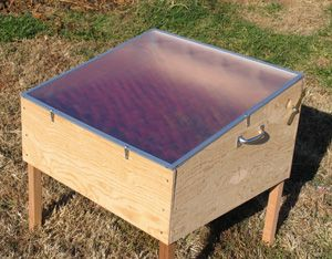 Solar Food Dehydrator - I want to try this next summer. It is so hot in #Sacramento #feedpreservation