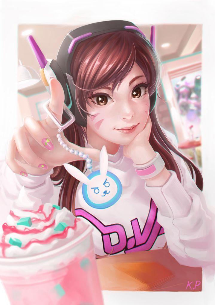 Overwatch:D.VA by subaru01rins.deviantart.com on @DeviantArt