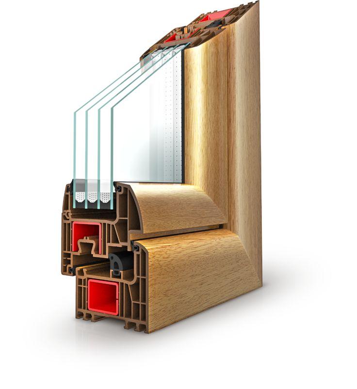 IGLO ENERGY Fenster von Drutex. Firma Drutex S.A. ist führend in der Entwicklung innovativer Lösung im Bereich thermischer Fensterisolierungen.