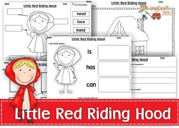 16 best images about little red riding hood activities and ideas on pinterest wolves. Black Bedroom Furniture Sets. Home Design Ideas