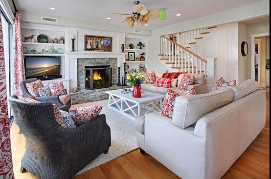 Beautiful fireplace tv beside home stuff pinterest for Layout my living room