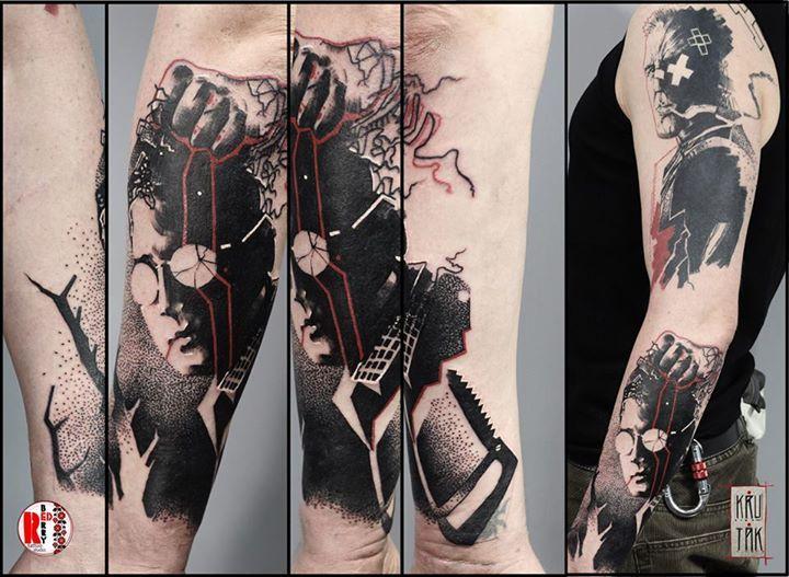 Redberry Tattoo Studio Wrocław #tattoo #inked #ink #studio #wroclaw #warszawa #tatuaz #gdansk #redberry #katowice #sosnowiec #bielskobiala #berlin #poland #krakow #krutak #labrujaproject #black #marv #sincity #comic #komiks #graphic #graficznie #Kevin #brzeszczot