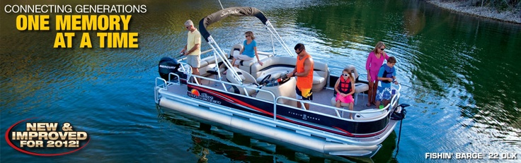 Suntracker pontoon