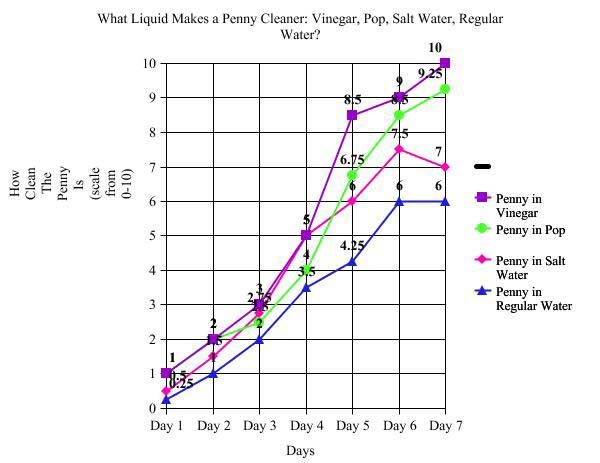 Which Liquid Makes A Penny Cleaner Penny Exp