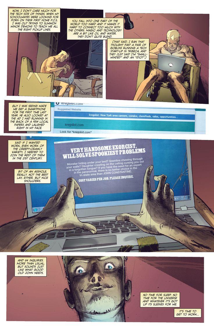 Bacakomik | constantine and his windows 7 laptop