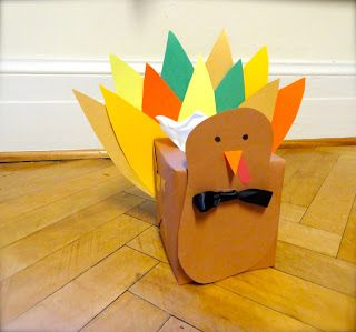 Now that Halloween has come and gone, time for some Thanksgiving Turkey Kleenex boxes