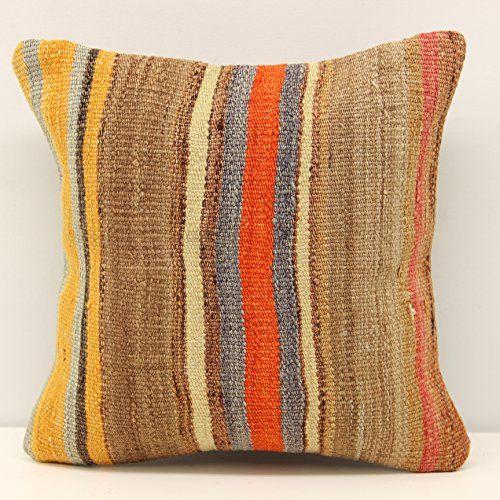Accent kilim pillow cover 12x12 inch (30x30 cm) Natural P... https://www.amazon.com/dp/B078NYHPC3/ref=cm_sw_r_pi_dp_x_VcwrAbZKZQVD3
