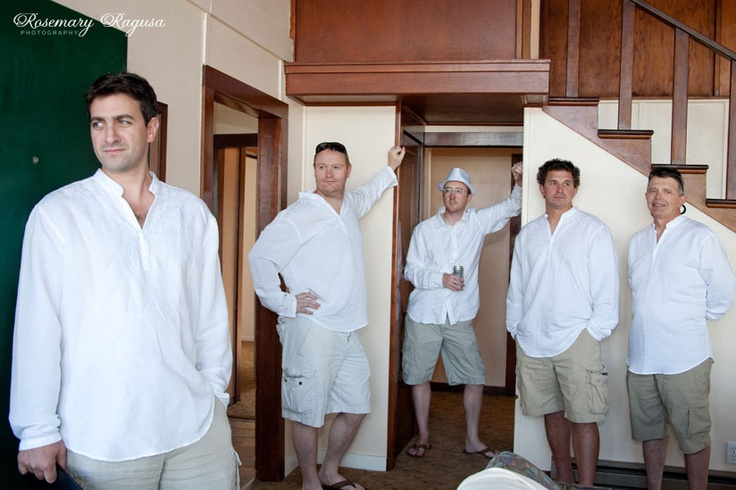 Casual, beach grooms style mmmaybe not THIS casual but sorta