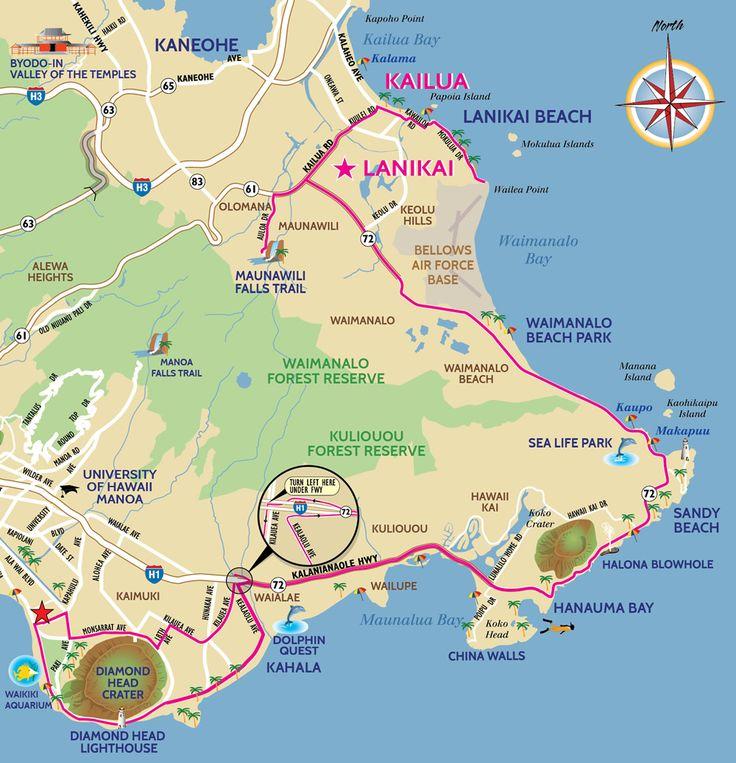 Best Hawaii Moped and Scooter Rental Ride- Waikiki to the Lanikai Kailua Beach. Visit Sandys Beach, Halona Blowhole, Makapu'u, Sea Life Park, Waimanalo.