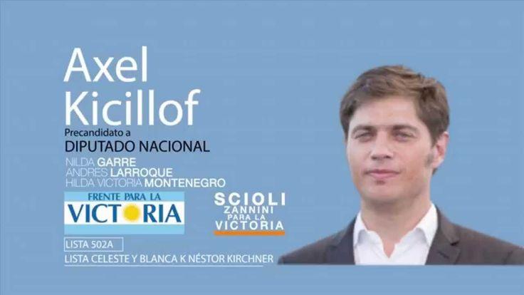 Axel Kicillof Diputado