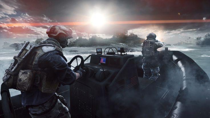 Videospel Battlefield 4  Wallpaper