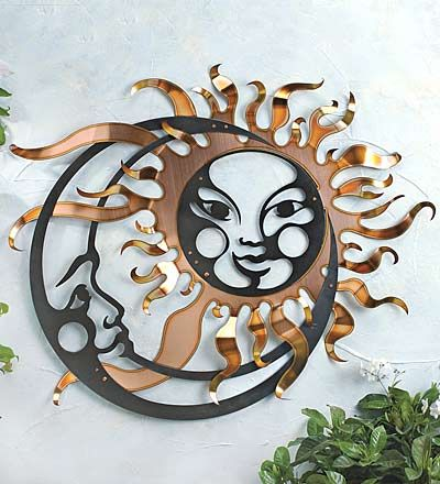 Sun and Moon Dance. . .Check out the expression of love on the Moon