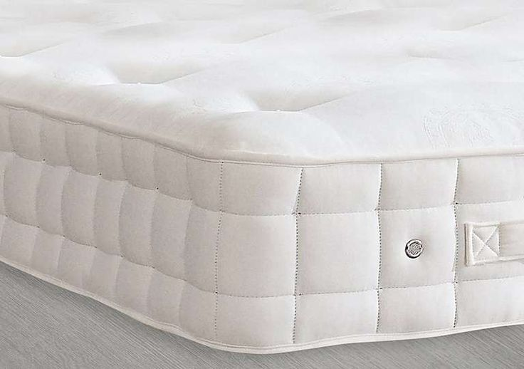 Hypnos Mattress £800 Furniture Village Hand crafted from the finest materials by master craftsmen  Hand nested pocket springs, each with 6 active turns  Layers of all natural British wool and deluxe cotton