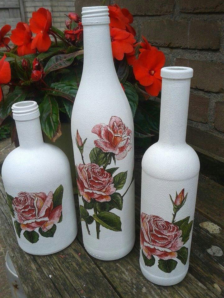 Gepimte flessen