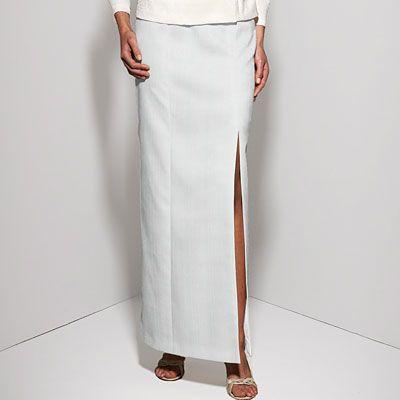Plisovaný žerzej - Polyester - bílá 152 kč