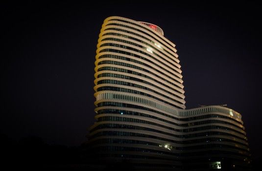 Architecture, Building, Night