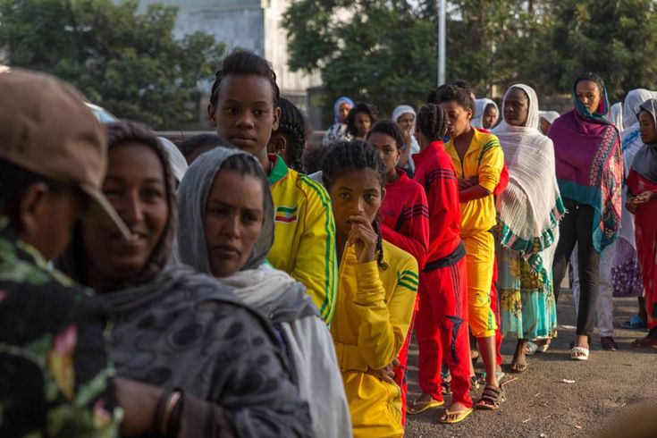 Ethiopians Vote in National Election - THE WALL STREET JOURNAL #Ethiopia, #Election, #World