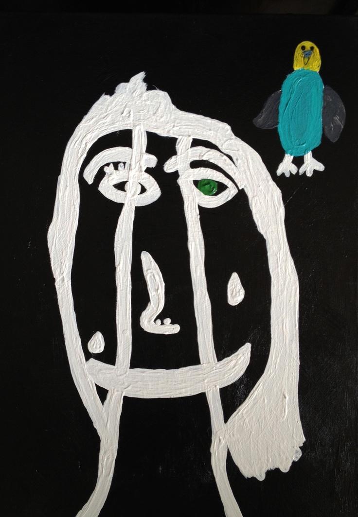 2012 Children's Visual Art Lanya Johns 'Three Faces Have We'