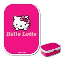 Hello Kitty Lunchbox met naam #hellokitty